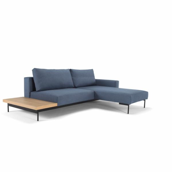 Bragi Natural Styled Sofa Bed